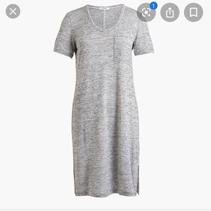 J. Crew Dresses - 🆕{Listing} J.Crew Pocket T-shirt Dress